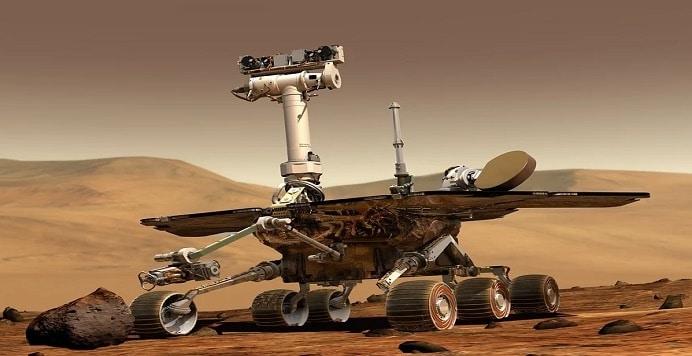 China rover marte