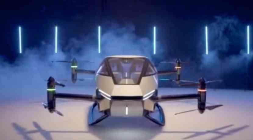 Taxi aéreo eléctrico comienza operaciones de prueba en China