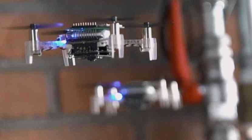 Un enjambre autónomo de drones encuentra fugas de gas